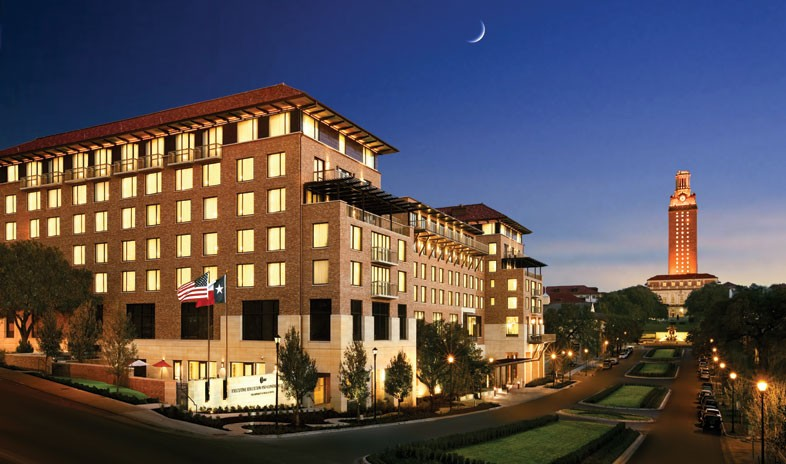 Where to stay play top 10 favorite hotels in austin for Dining at at t conference center austin