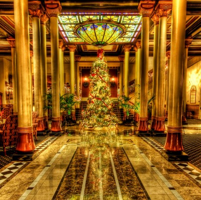 Christmas at The Driskill Hotel