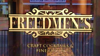 Freedmen's Craft Cocktails and Fine Foods - Outdoor