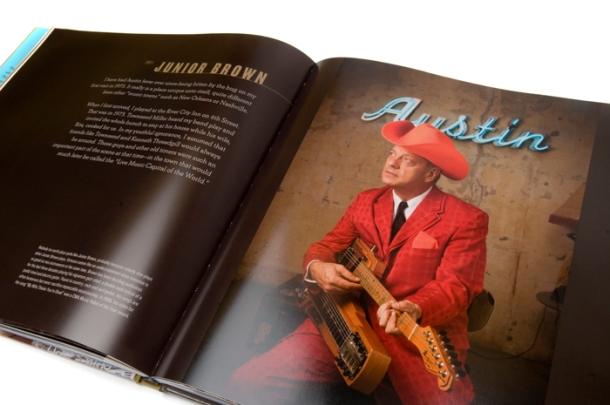 The Sound Of Austin - Junior Brown Portrait