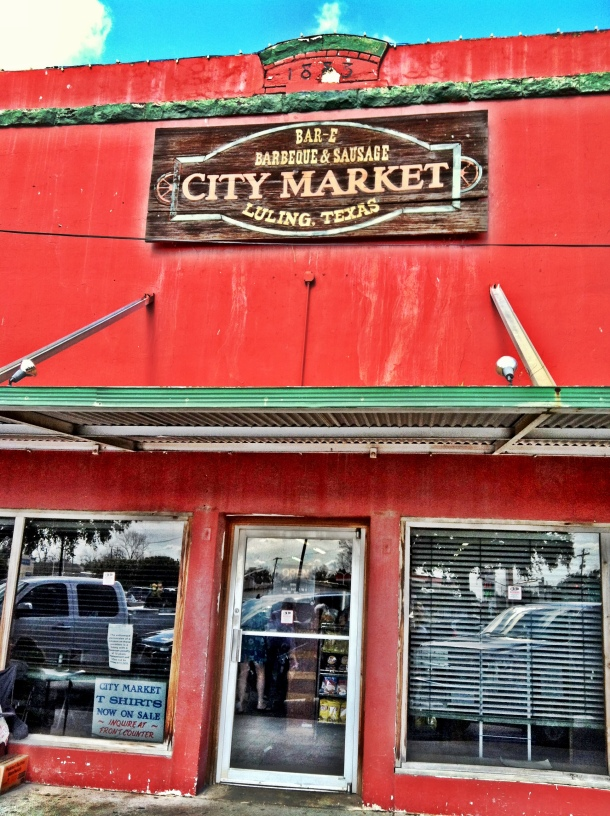 City Market BBQ - Luling, Texas