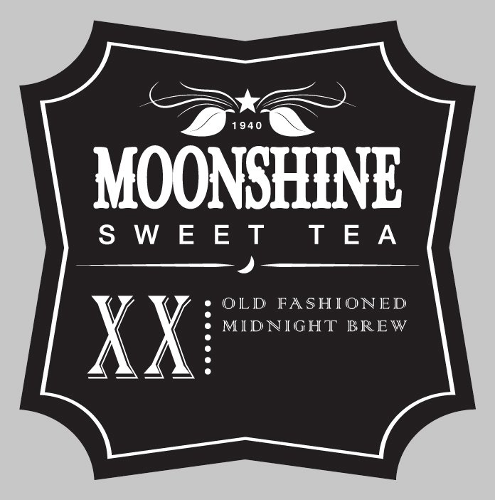 Moonshiners Logo Moonshine Sweet Tea Logo