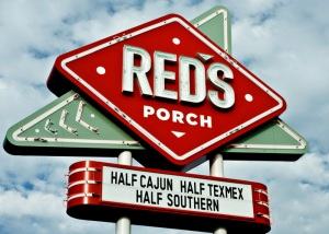 Red's Porch Signage