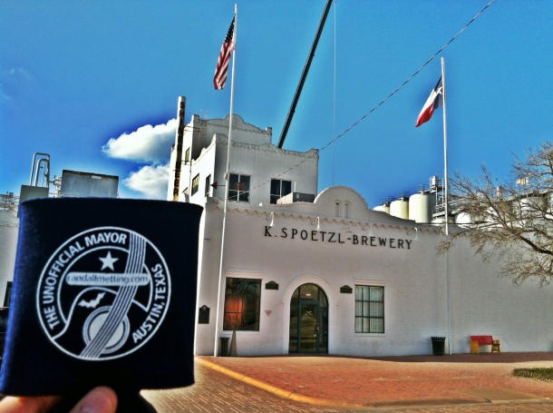 The Unofficial Mayor of Austin Koozie Visits Shiner