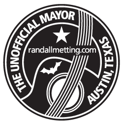 Unofficial Mayor of Austin Logo - Black