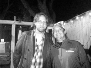 Backstage With Hayes Carll