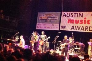 Austin Music Awards w Gary Clark Jr and Bill Carter 1 - March 13, 2013