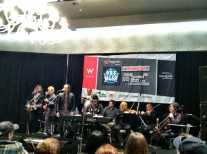 KGSR Live Broadcasts at W Austin - Day One - March 13, 2013 - Bob Schneider and Tosca String Quartet 1