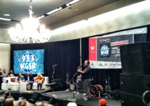KGSR Live Broadcasts at W Austin - Day One - March 13, 2013 - Iron & Wine