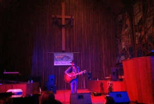 Ryan Bingham - Central Presbyerian Church 2 - March 12, 2013