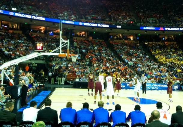 2 - NCAA Men's Basketball - 2nd & 3rd Rounds - Erwin Center - March 24, 2013